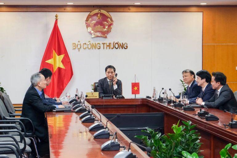 Việt Nam - Hoa Kỳ thúc đẩy hợp tác kinh tế, thương mại song phương giữa hai nước