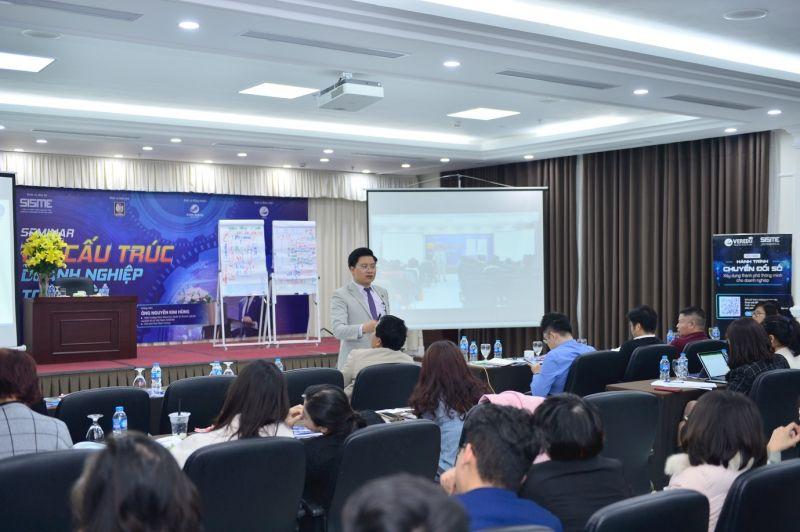 Viện Khoa học Quản trị doanh nghiệp và Kinh tế số Việt Nam tổ chức chương trình giúp doanh nghiệp chuyển hoá cơ hội mới, hoạch định chiến lược phát triển bền vững