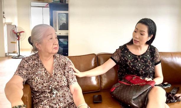 Nghệ sĩ Trịnh Kim Chi vận động trên 1 tỉ đồng sửa chữa Khu Dưỡng lão Nghệ sĩ