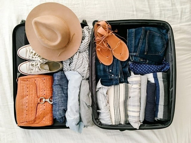 Chuẩn bị đầy đủ đồ sẽ cho bạn một chuyến du lịch thật sự thoải mái vui vẻ