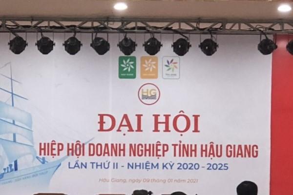 Ông Phạm Tiến Hoài được bầu làm Chủ tịch Hiệp hội doanh nghiệp tỉnh Hậu Giang
