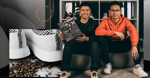 Rens – startup sản xuất giày từ bã cà phê đang tiến hành chuyển hết sản xuất từ Trung Quốc về Việt Nam