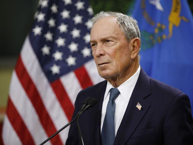 Tỷ phú Bloomberg