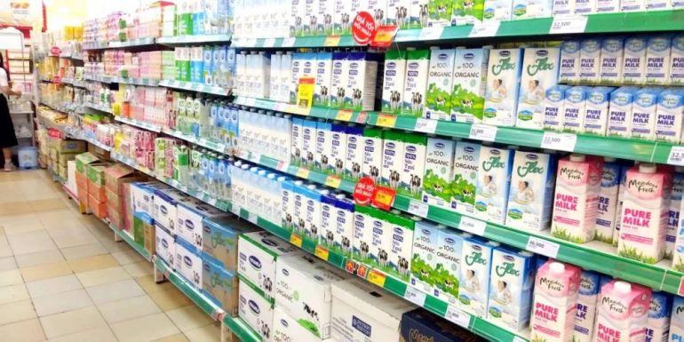 Ước tính tăng trưởng doanh thu của ngành sữa là một chữ số trong năm 2021