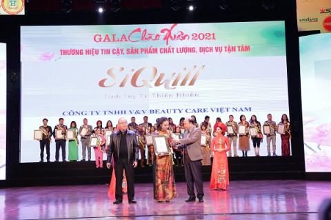 Siquill nhận giải thưởng top 50 thương hiệu tin cậy