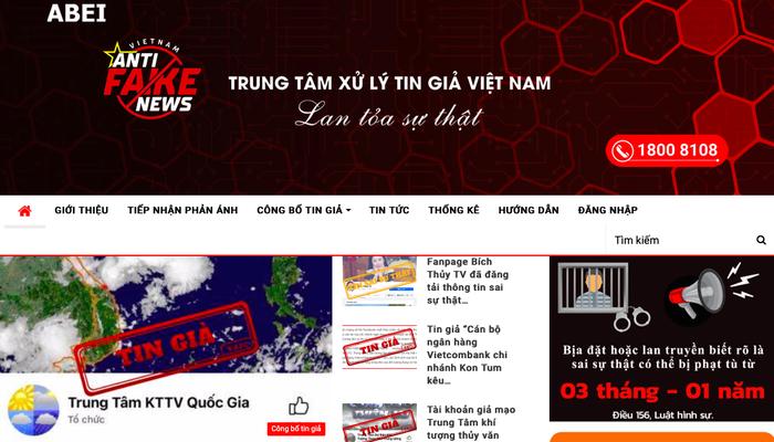 Việt Nam chính thức khai trương Trung tâm xử lý tin giả