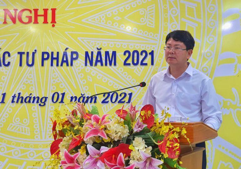 Ngành tư pháp tỉnh Kiên Giang tổng kết hoạt động  năm 2020 và triển khai công tác năm 2021