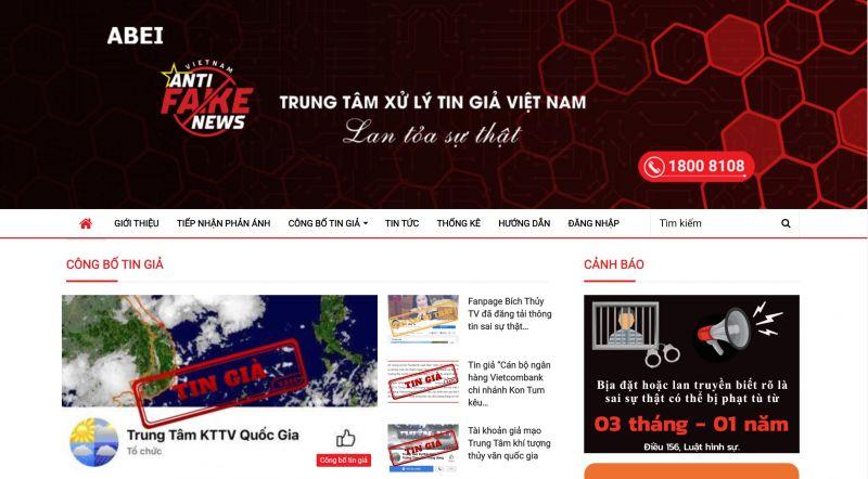 Trung tâm xử lý tin giả Việt Nam thuộc Cục Phát thanh Truyền hình và Thông tin điện tử có nhiệm vụ tiếp nhận, phát hiện, thẩm định, gắn nhãn tin giả; công bố thông tin xác nhận tin giả.