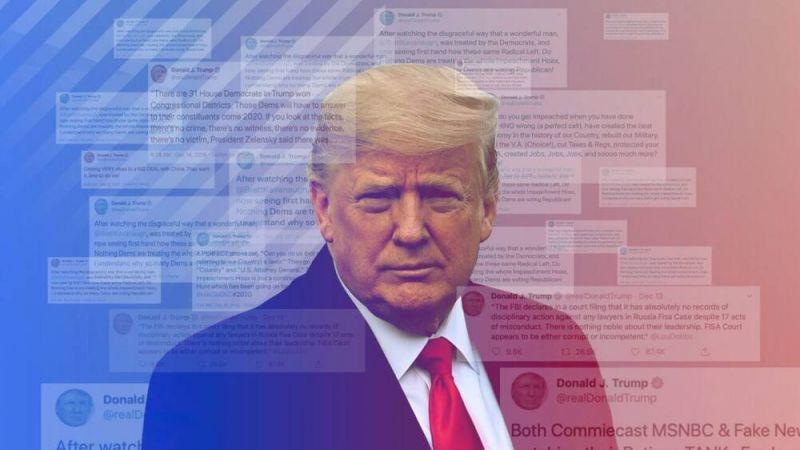 bởi Tổng Thống Donald Trump là một lãnh đạo nổi tiếng có gần 89 triệu người theo dõi trên nền tảng.