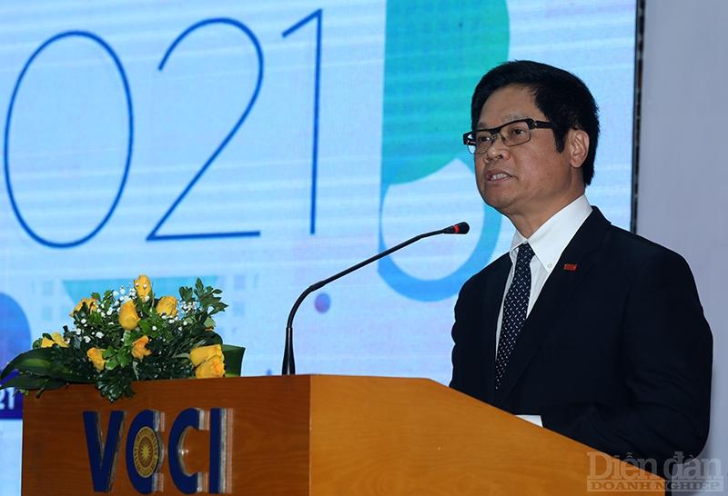 TS Vũ Tiến Lộc, Chủ tịch VCCI