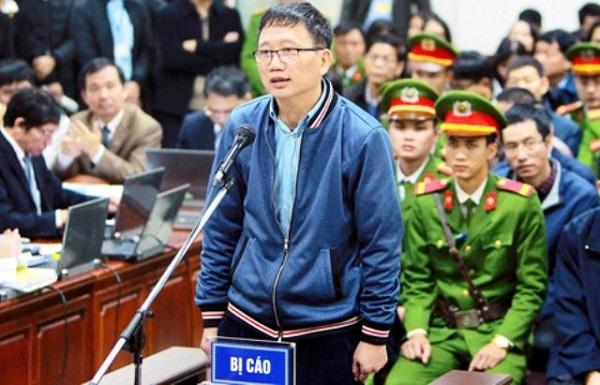 Bị can Trịnh Xuân Thanh bị cáo buộc chỉ đạo cán bộ dưới quyền tại PVC cho PVC Kinh Bắc tạm ứng trái quy định 25 tỷ đồng