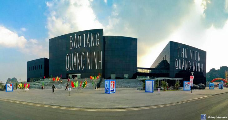 Bảo tàng Quảng Ninh là điểm đến tham quan hấp dẫn đối với du khách