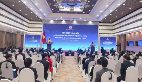 Chương trình cấp điện nông thôn, miền núi và hải đảo của Việt Nam góp phần xóa đói giảm nghèo và phát triển bền vững
