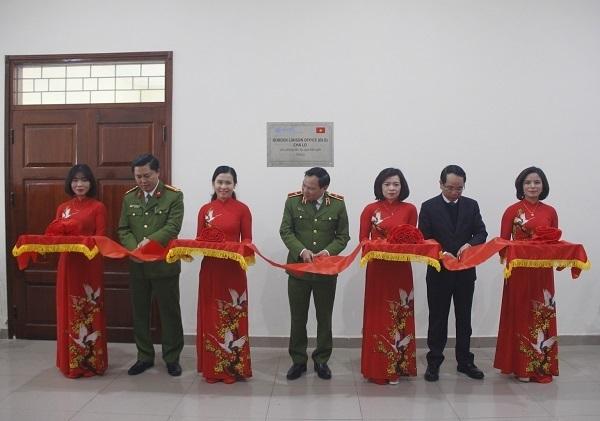 Lễ cắt băng khánh thành Văn phòng BLO tỉnh Quảng Bình.