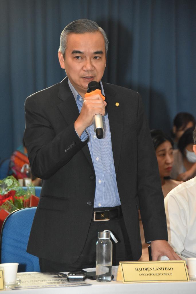 Ông Võ Anh Tài, Phó tổng giám đốc Tổng công ty Du lịch Sài Gòn
