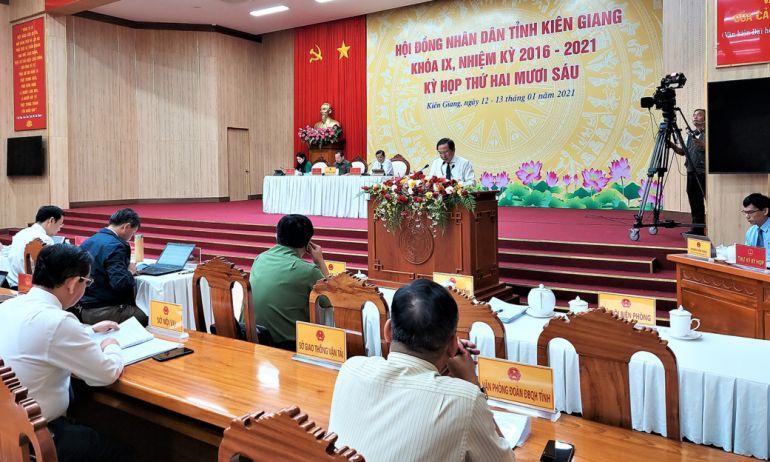 GRDP tỉnh Kiên Giang năm 2020 tăng 3,05%