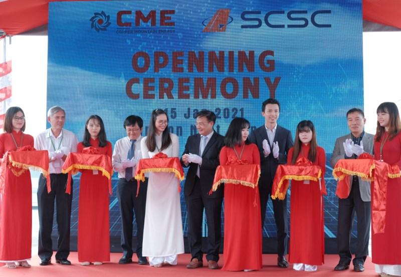 Lễ khánh thành hệ thống điện mặt trời mái nhà công nghiệp SCSC - CMES ga hàng hóa sân bay Quốc tế Tân Sơn Nhất
