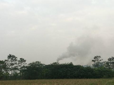 Lò đốt rác tiền tỷ tại Vĩnh Phúc hoạt động không hiệu quả!