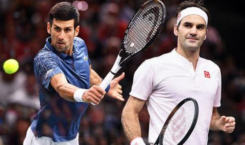 Roger Federer và Novak Djokovic: Cặp đấu kình địch bậc nhất trong làng banh nỉ đương đại
