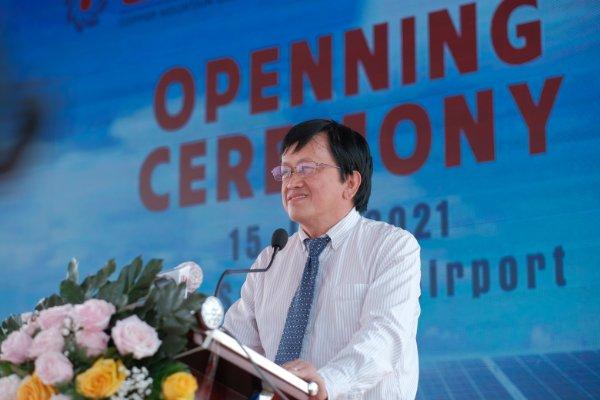 Ông Nguyễn Quốc Khánh - Tổng giám đốc SCSC phát biểu