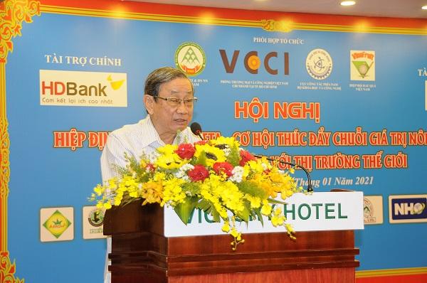 Ông Lê Duy Minh - Chủ tịch Hiệp hội Trang trại và Doanh nghiệp nông nghiệp Việt Nam.