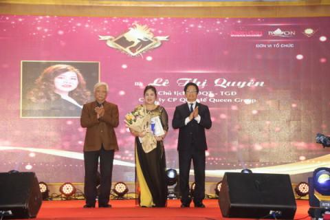 """Doanh nhân Lê Thị Quyên vinh dự được nhận danh hiệu """"Nữ doanh nhân ấn tượng"""" với nhiều hoạt động cộng đồng"""
