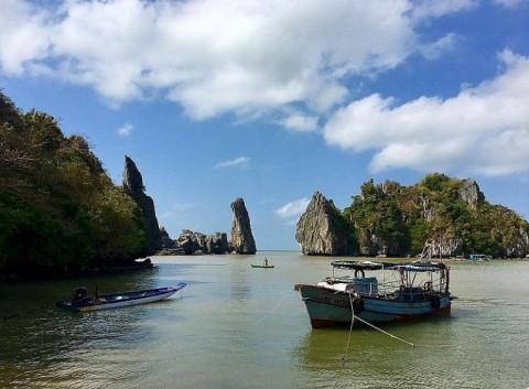 Khu du lịch chùa Hang- Hòn Phụ tử tại Kiên Giang chính thức mở cửa đón khách trở lại