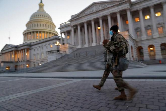 An ninh được thắt chặt để chuẩn bị cho lễ nhậm chức của ông Biden ngày 20/1