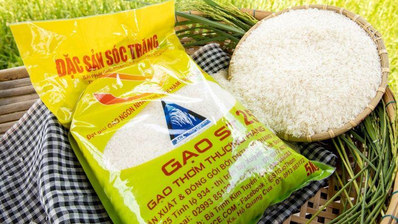 ST25 là loại gạo thuộc nhóm hảo hạng trong thị trường gạo hiện nay.