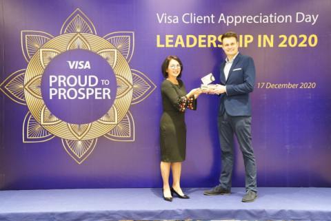 Home Credit nhận giải thưởng uy tín từ Visa