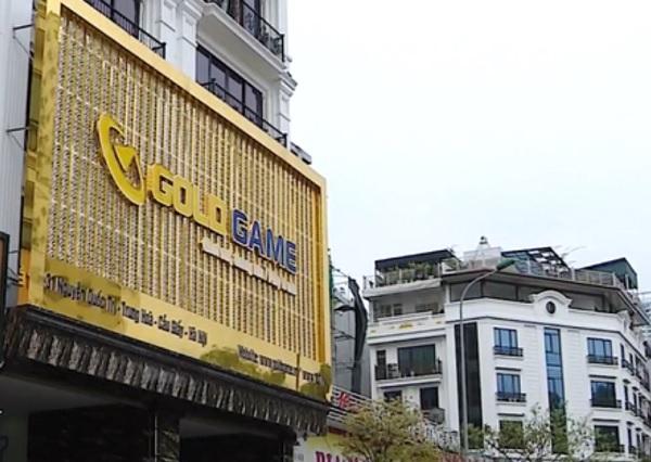 Trụ sở của Gold Game Việt Nam trên phố Nguyễn Quốc Trị (Trung Hoà, Cầu Giấy, TP. Hà Nội)