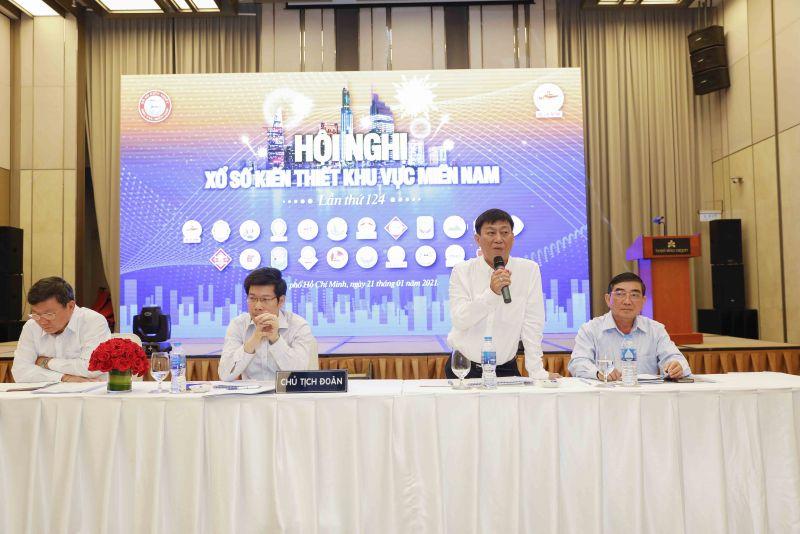 Ông Dương Minh Tú - Phó Chủ tịch Hội đồng phát biểu