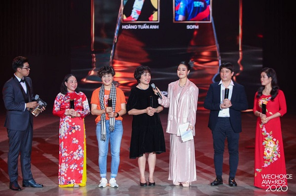 Top 5 Đại sứ truyền cảm hứng được Hội đồng thẩm định bình chọn