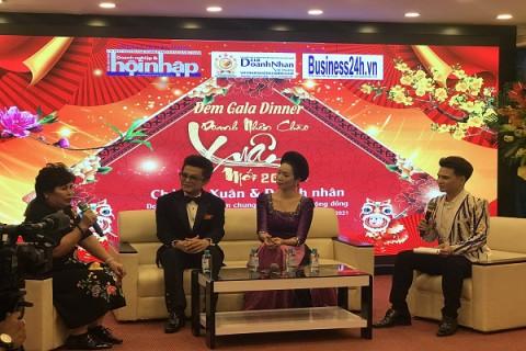 """Nhiều cảm xúc tại đêm Gala """"Doanh nhân chào xuân mới 2021"""" do CLB Doanh nhân Việt Nam tổ chức"""