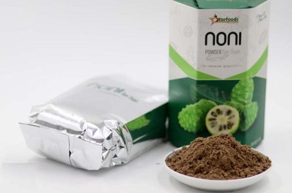Sản phẩm bột có thành phần trái nhàu nhập khẩu từ Indonesia cũng bị cơ quan chức năng Hàn Quốc tiếp tục áp dụng biện pháp kiểm tra chặt chẽ