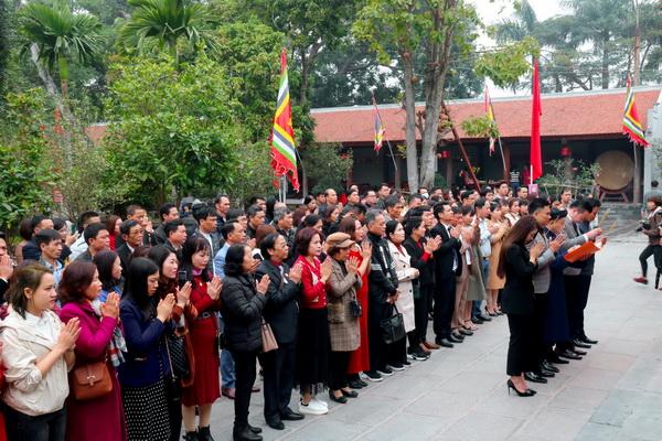 BLĐ Natrumax cùng các đại biểu tham dự Lễ dâng hương, báo công tại Đền Kiếp Bạc, Hải Dương