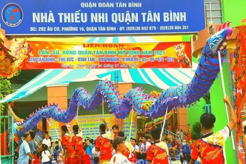 """Nhà thiếu nhi quận Tân Bình:  Tổ chức chương trình nghệ thuật """"Em là mầm non của Đảng"""""""