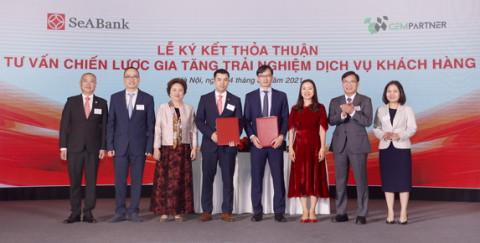 Ngân hàng TMCP Đông Nam Á (SeABank) ký kết hợp tác với 4 đối tác chiến lược hướng tới phát triển bền vững