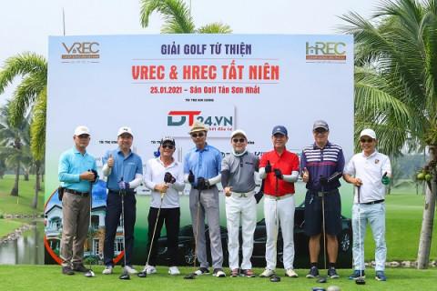 Giải Golf từ thiện VREC-HREC hướng đến giá trị nhân văn năm 2021