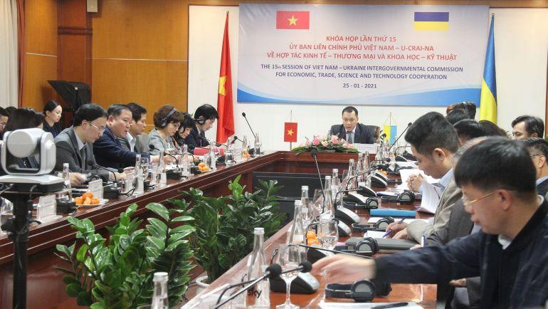 Việt Nam - Ucraina thúc đẩy phát triển hợp tác kinh tế