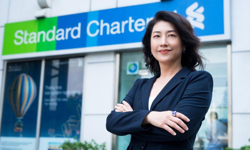 Bà Michele Wee, tân Tổng giám đốc Standard Chartered Việt Nam. Ảnh: Standard Chartered.