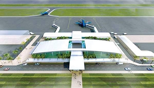 Phối cảnh công trình Dự án Cảng hàng không Sa Pa