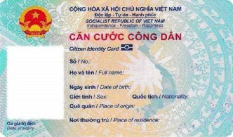 Thông tin chính thức về mẫu Thẻ Căn cước công dân gắn chip điện tử