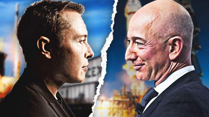 Tham vọng của hai tỷ phú giàu nhất thế giới trong cuộc theo đuổi giấc mơ vào không gian