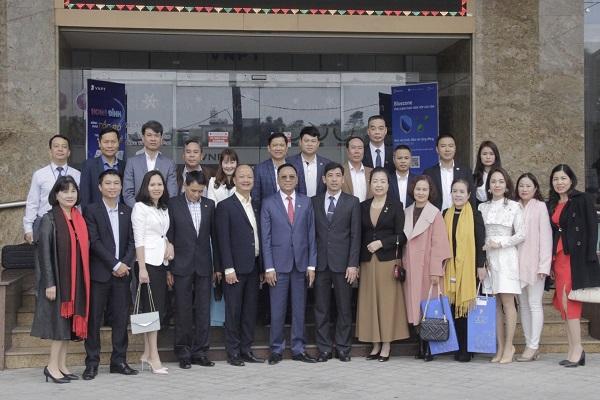 Hiệp hội Doanh nghiệp tỉnh Thanh Hóa thăm và làm việc tại Viễn thông Thanh Hóa