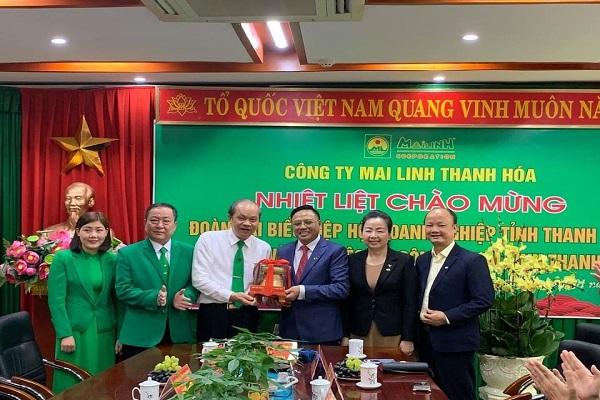 Doanh nghiệp tỉnh Thanh Hóa kết nối, đồng hành cùng doanh nghiệp hội viên phát triển