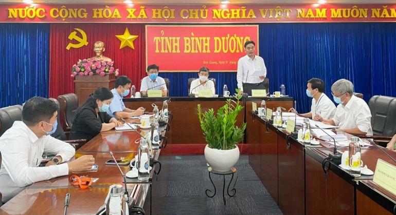 Huyện Phú Giáo và trường Đại học Thủ Dầu Một, Bình Dương tăng cường rà soát phòng chống dịch covid-19