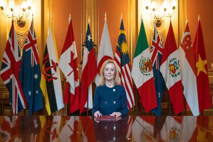 Bộ trưởng Thương mại Quốc tế Anh Liz Truss - Ảnh: Gov.uk