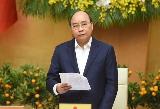 """Thủ tướng Nguyễn Xuân Phúc: """"Sớm đưa vaccine ngừa COVID-19 đến người dân trong quý I"""""""