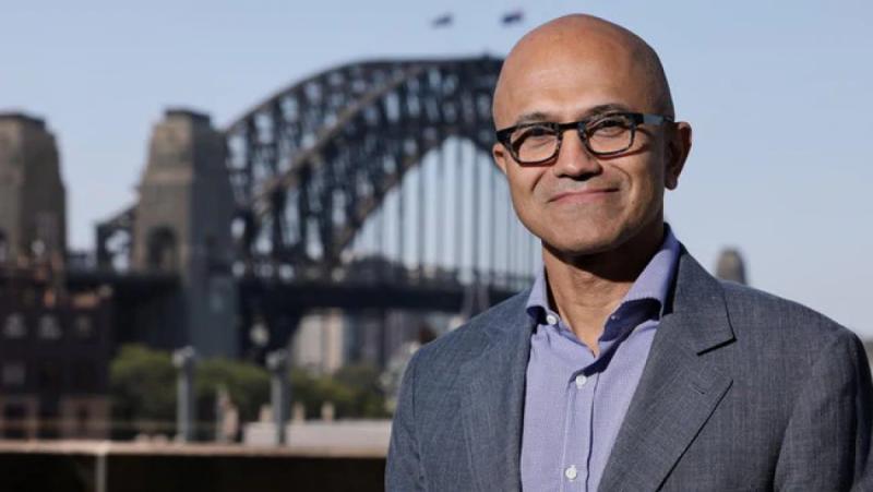 Tổng giám đốc điều hành tập đoàn Microsoft Satya Nadella
